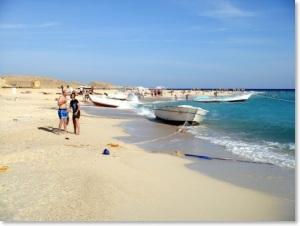 So schön war es bislang an der Küste des Roten Meeres. Foto: Nepi