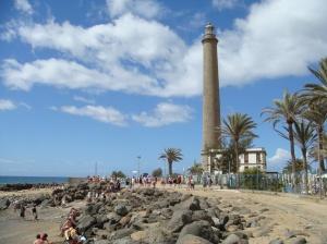 Ein Durchkommen vom Strand zum Faro soll kaum noch möglich sein.