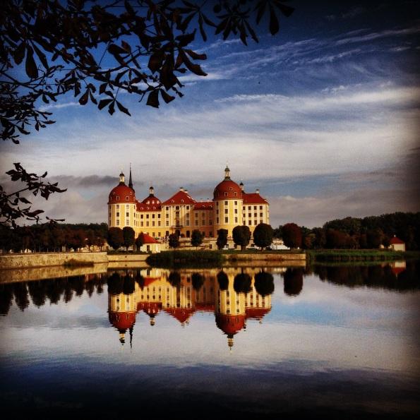 Schloss Moritzburg - Jagdresidenz von August dem Starken.